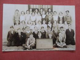 RPPC Group Of Student Irwin Public School  1932   Ref  3855 - Postcards