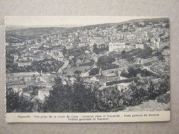 Israel - General View Of Nazareth - Israel