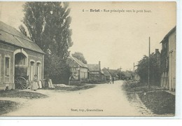 Briot-Rue Principale Vers Le Petit Bout - Autres Communes