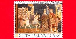 VATICANO - Usato - 2013 - 1700° Dell'Editto Di Milano (congiunta Con L'Italia) - Costantino I E Papa Silvestro - Vedi.. - Vaticano