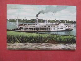 Kentucky > Louisville     Steamer City Of  Louisville  Ref  3855 - Louisville