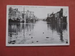 Flood Scene At Campbell & Market Street Kentucky > Louisville       Ref  3855 - Louisville