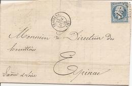 JURA (38) LAC De FRAISANS  GC 1574   Sur NAP Pour EPINAC +  PASSE 1307 - 1849-1876: Période Classique