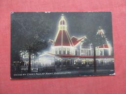 Casino At Cooks Park At Night Indiana > Evansville     Ref  3856 - Evansville