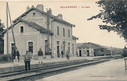 J23 - 52 - ROLAMPONT - Haute-Marne - La Gare - France