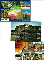 24 / DORDOGNE / Lot 800 C.P.M. Neuves - Cartes Postales