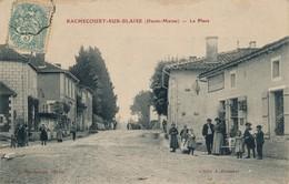 J23 - 52 - RACHECOURT-SUR-BLAISE - Haute-Marne - La Place - France