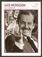 PORTRAIT DE STAR 1976 ÉTATS UNIS USA - ACTEUR JACK NICHOLSON - UNITED STATES USA ACTOR CINEMA FILM PHOTO - Fotos