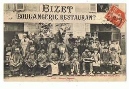 01 - BOURG - Bizet, Boulangerie Restaurant, Banquet Bressan  - 2007 - Bourg-en-Bresse