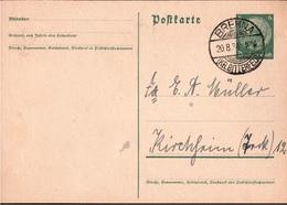 ! 1 Beleg 1934 Aus Brehna, Sachsen-Anhalt - Covers & Documents