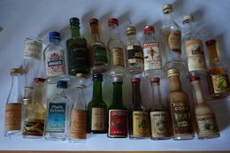 20 Mignonettes Alcool - Andere Verzamelingen