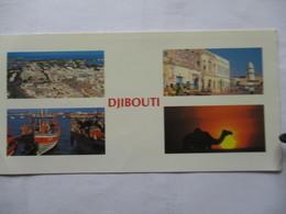 Carte  Djibouti - France
