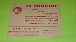 Image Magique Système RARE - FABLE DE LA FONTAINE - Le Lion Et Le Rat - 12.5 X 10 - PUB - Très Bon état  Neuf / 233 - Alimentare