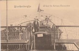 Blankenberghe , Blankenberge ,  A Bord Du Bateau Excursion - Blankenberge