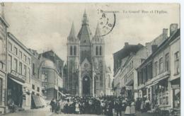Bonsecours - La Grand' Rue Et L'Eglise - 1909 - Péruwelz