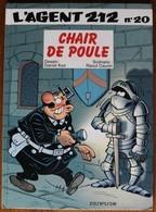 BD L'AGENT 212 - 20 - Chair De Poule - EO 1999 - Agent 212, L'