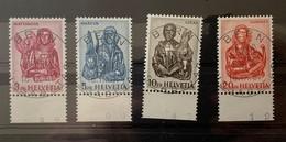9951 - Nos 381-384 Evangelistes 1er Jour 18.09.1961 Vollstempel - Schweiz
