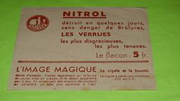 Image Magique Système RARE - FABLE DE LA FONTAINE - La Cigale Et La Fourmi - 12.5 X 10- PUB - Très Bon état  Neuf / 236 - Alimentare