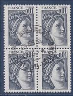 = Sabine De Gandon Bloc De 4 Oblitéré N°1962 - 1977-81 Sabine De Gandon