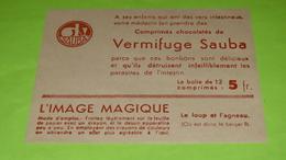 Image Magique Système RARE - FABLE DE LA FONTAINE - Le Loup Et L'Agneau - 12.5 X 10 - PUB - Très Bon état  Neuf / 238 - Alimentare