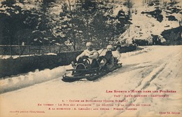 J24 - 64 - Les Sports D'hiver Dans Les Pyrénées - Course De Bobsleighs - Eaux Bonnes