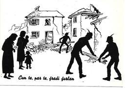 BA047 ALPINI - CANTIERI DI LAVORO IN FRIULI - 1976 - NUOVA - Reggimenti