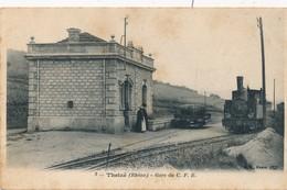 J24 - 69 - THEIZÉ - Rhône - Gare Du CFB - Tramway - Autres Communes