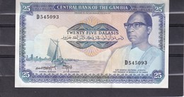 Gambia  BWA  25 Dalasis  UNC - Other - Africa