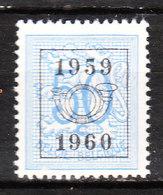PRE694**  Chiffre Sur Lion Héraldique - 1959-60 - Bonne Valeur - MNH** - Vendu à 10% Du COB!!!! - Préoblitérés