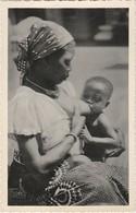 Congo Belge, Belgium Congo, Femme Donne Le Sein, 2 Scans - Africa Meridionale, Occidentale E Orientale