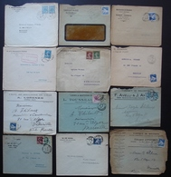 Algérie Lot De 12 Lettres Des Années 1920 1930, Différents états, Voir Photos - Storia Postale