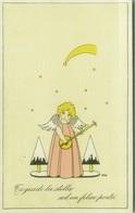SCATTINA SIGNED 1930s POSTCARD - ANGELO BIONDO - CI GUIDI LA STELLA AD UN FELICE PORTO - EDIZ. SCHOR  (BG733) - Andere Illustrators