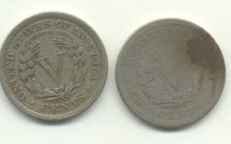 5 Cents 1901 + 1910 - EDICIONES FEDERALES