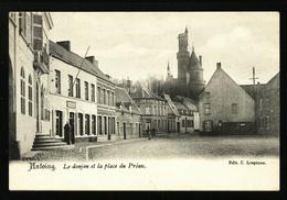 Antoing. Le Donjon Et La Place Du Préau. **** - Antoing
