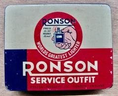 BOITE RONSON SERVICE OUTFIT ( POUR BRIQUET ) - Aanstekers
