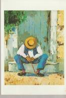 1989 - DANIELE ET RENE - VERNISSAGE - ANDRE TORRE - GALERIE DE LA COLOMBE - VALLAURIS - - Toegangskaarten
