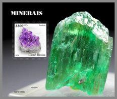 GUINEA BISSAU 2019 MNH Minerals Mineralien Mineraux S/S - OFFICIAL ISSUE - DH2003 - Mineralen