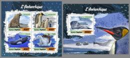 TOGO 2019 MNH Animals Of Antarctic Tiere Der Antarktis Animaux Antartique M/S+S/S - OFFICIAL ISSUE - DH2003 - Antarctic Wildlife