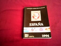 CATALOGO UNIFICADOS DE SEILOS   ESPAGNE 1994 - Spanje