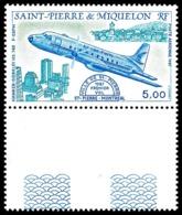 ST-PIERRE ET MIQUELON 1987 - Yv. PA 64 ** MNH Bdf  Faciale= 0,76 EUR - Avion Hawker-Siddeley HS748  ..Réf.SPM11473 - Ongebruikt