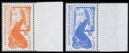 ST-PIERRE ET MIQUELON 1987 - Yv. 480 Et 481 ** SUP Bdf  Faciale=0,38 EUR - La Pêche 1f10 Et 1f50 ..Réf.SPM10362 - Unused Stamps