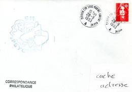 SOUS MARIN PSYCHE Cachet Du Bord Obl. Ctre Sous Marins Lorient Marine 28/09/93 - Naval Post