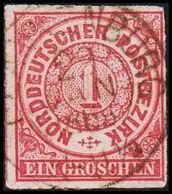 1868. NORDDEUTSCHER POSTBEZIRK.  1 GROSCHEN.  () - JF320100 - North German Conf.