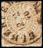1868. NORDDEUTSCHER POSTBEZIRK.  5 GROSCHEN.  () - JF320104 - North German Conf.