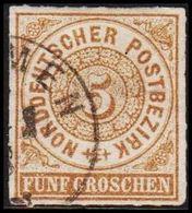 1868. NORDDEUTSCHER POSTBEZIRK.  5 GROSCHEN.  () - JF320105 - North German Conf.