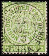 1868. NORDDEUTSCHER POSTBEZIRK.  1/3 GROSCHEN. () - JF320110 - North German Conf.
