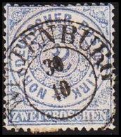 1868. NORDDEUTSCHER POSTBEZIRK.  2 GROSCHEN. Luksus WITTENBURG 30 10. () - JF320114 - North German Conf.
