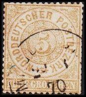 1868. NORDDEUTSCHER POSTBEZIRK.  5 GROSCHEN.  () - JF320116 - North German Conf.