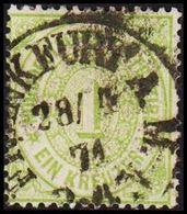 1869. NORDDEUTSCHER POSTBEZIRK.  1 KREUZER.  () - JF320117 - North German Conf.