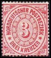 1869. NORDDEUTSCHER POSTBEZIRK.  3 KREUZER.  () - JF320119 - North German Conf.